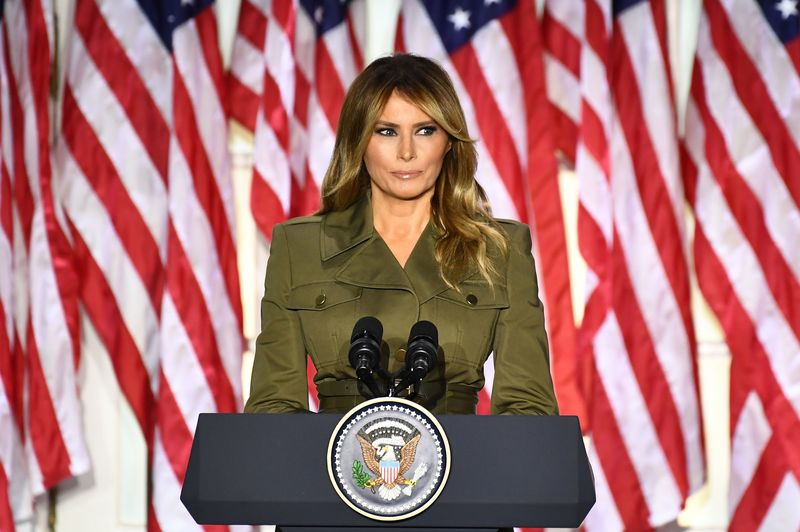 It Was When Melania Trump King Power To Hit A Campaign Trial For Mr Donald By Saying That Donald Is A Fighter