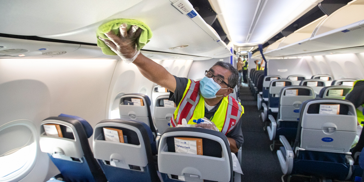 What I learned from 5 years cleaning planes in the middle of the night